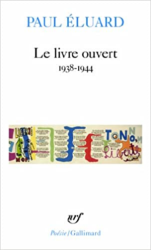 Livre Ouvert Poesie Gallimard English And French Edition