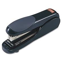 "MAX Flat Clinch Standard Stapler - Desktop Stapler - 30 Sheets Capacity - 210 Staple Capacity - 1/4"" Staple Size - Black - Sold as 1 / Each by Max??"