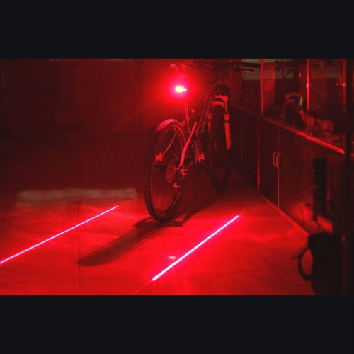 Candance 2 Laser 5 LED Cycling Bicycle Bike Flash ...