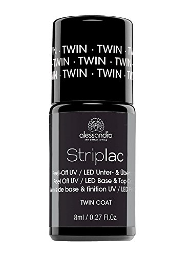 Alessandro Striplac Twin Coat Base & Top 8ml