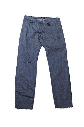(Buffalo David Bitton Women's Faith Ripped Skinny Railroad-Stripe Wash Jeans)