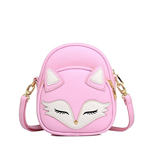 Hipytime BHB880460C3 Fashion PU Leather Cute Cartoon Women's Handbag,Vertical Section Square Other (Missionary Package Ideas)