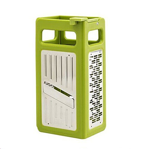 Funnytoday365 4 In 1 Kitchen Grater Folds Flat Grater For Easy Storage Kitchen Tools Vegetable Gadgets Cooking Tools