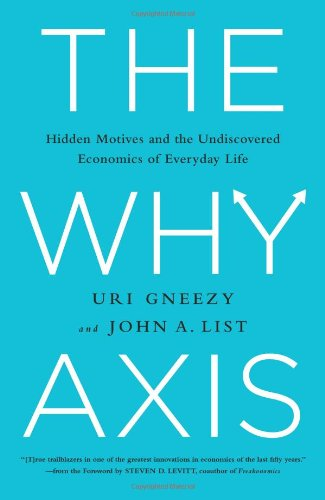 Image of The Why Axis: Hidden Motives and the Undiscovered Economics of Everyday Life