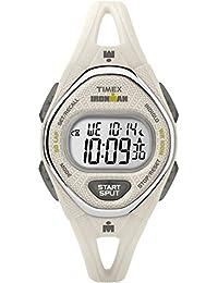 Women's TW5M10800 Ironman Sleek 50 White Silicone Strap Watch