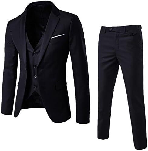 スーツ 3点セット メンズ スリーピーススーツ スタイリッシュスーツ スリム 防シワ ビジネススーツ フォーマルウェア 上下セット ベスト付き シングルフォーマル スーツ カジュアル オールシーズン 結婚式 礼服 通勤 男性用