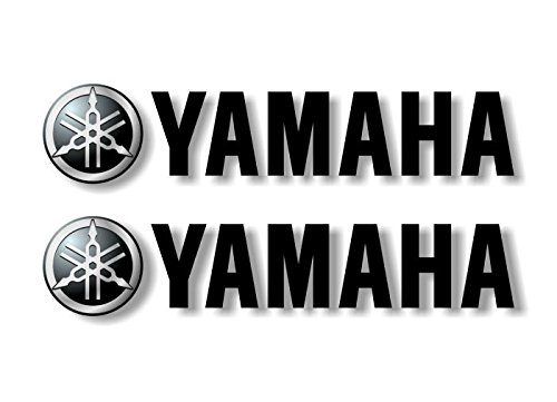 (2 Yamaha Graphic Vinyl Decals for Truck Sled Snowmobile Kodiak Grizzly 700 Trailer Stickers ((2) 2