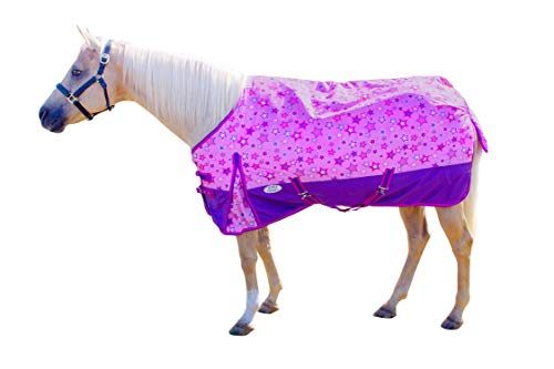 (Derby Originals 600D Shimmering Star Turnout Blanket Miniature and Pony Sizes)
