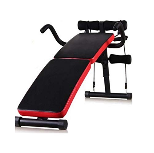 GaoMiTA Folding Multifunctional Supine Board Thickening and lengthening Fitness Equipment Home sit-ups and Abdominal Panels Abdominal Board by GaoMiTA (Image #5)
