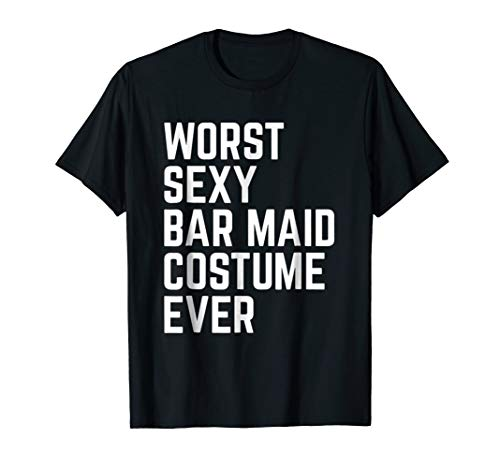 Worst Sexy Bar Maid Costume Ever Funny Halloween -