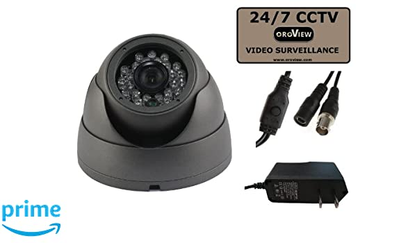 "Indoor Outdoor 700TVL 1//3/"" Sony CCD Night IR 3.6mm Dome Security CCTV Camera"