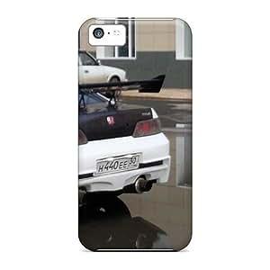 High Quality GoldenArea Honda Class Skin Case Cover Specially Designed For Iphone - 5c
