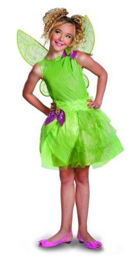 Disguise Disney Fairies Tinker Bell Tween Girls Costume,