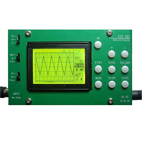 Original DSO062 Digital Oscilloscope Unassembled Kit - Arduino Compatible SCM & DIY Kits Arduino Compatible Kits & DIY Kits - 1 x DIY Digital Oscilloscope Kit DSO062 DIY Kit
