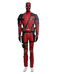 Mtxc Men's New Mutants Cosplay Costume Deadpool Full Set