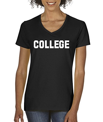 New Way 506 - Women's V-Neck T-Shirt College Medium - Miami Florida Marketplace
