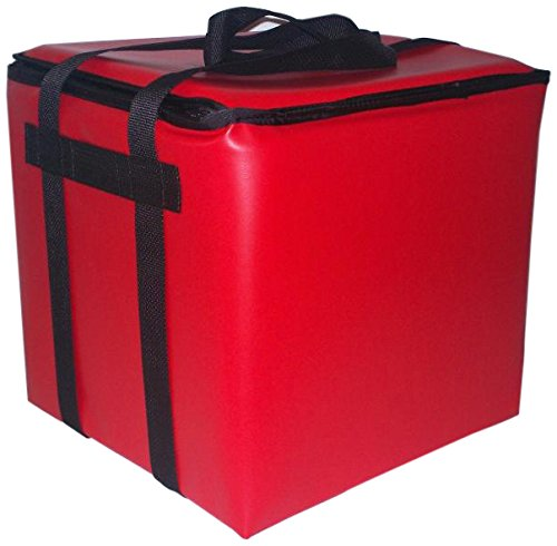 TCB Insulated Bags SC-XL-Red Insulated Stadium Club Bag, 14.5'' x 14.5'' x 14'', X-Large, Red by TCB Insulated Bags