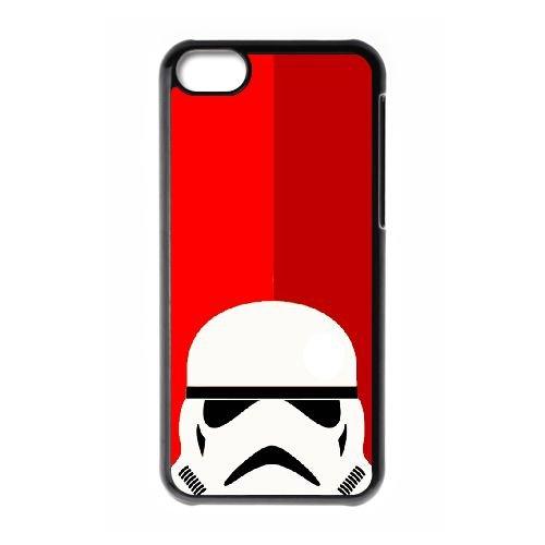 Trooper Rouge OF54RI0 coque iPhone Téléphone cellulaire 5c cas coque B2BY5Q6LC