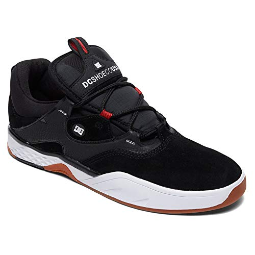 DC Men's Kalis S Shoes,10D,Black/White/Red for sale  Delivered anywhere in USA
