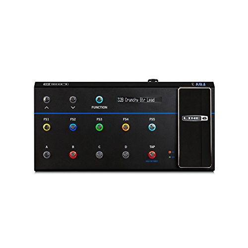 Line 6 FBV 3 | 9 Button Guitar Multi Effects Foot Controller for Firehawk 1500 Amp (Line 6 Fbv Footswitch)