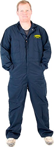 Heisenberg Costume Breaking Bad (Breaking Bad Vamonos Pest Navy Adult Jumpsuit Costume (Adult X-Large 50