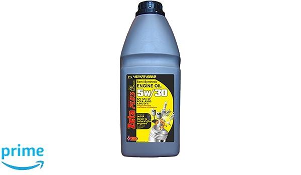 Silverhook SHLNP2 - Aceite semisintético de Motor 5w/30, 1 l: Amazon.es: Coche y moto