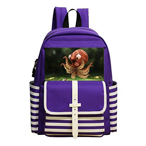 Lovely Octopus Children Kids Student School Bag School Backpack