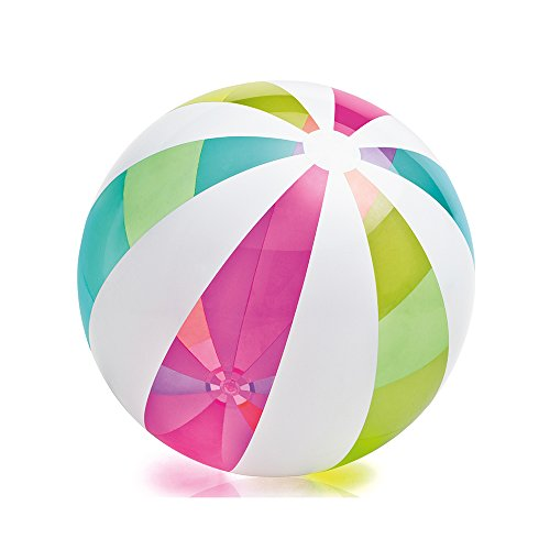 Intex Oversize Giant Beach Ball, 42'' Diameter, for Ages 3+ by Intex