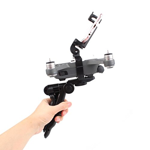 (Black) - [DJI Mavic Spark Accessories] Handheld Gimbal Portable Tripod Gimbal Stabilisers (Black)