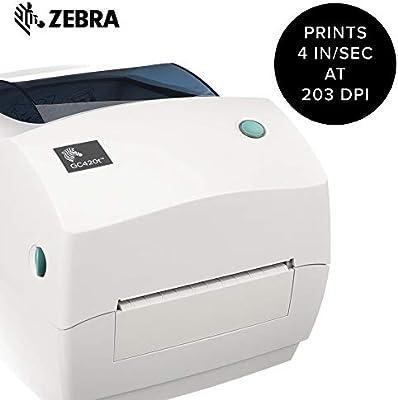 Amazon.com: Zebra GC420t. Impresora de escritorio, monocromo ...