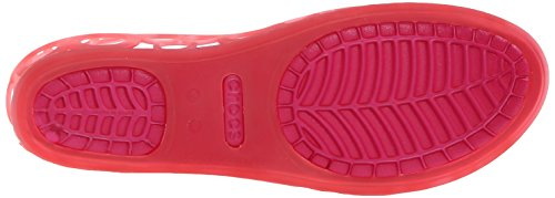 Adrina Crocs Donna EU 11238 5 Pink 37 Flat Candy Rosso Ballerine Coral BBr5HqwxI