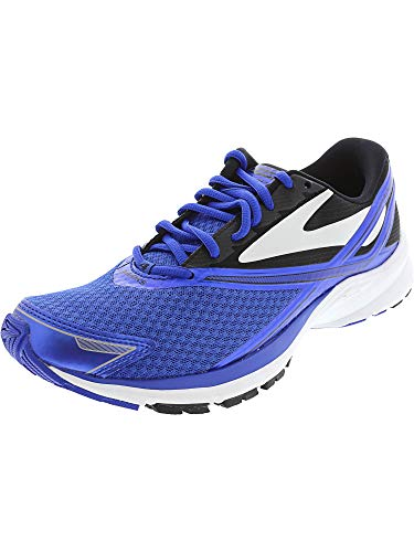 Brooks Men's Launch 4 Electric Brooks Blue/Black/White 11 D US
