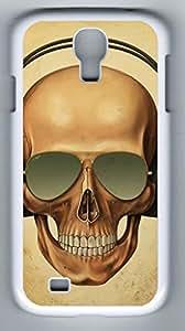 iCustomonline Case for Samsung galaxy S4 PC, Skull Stylish Durable Case for Samsung galaxy S4 PC