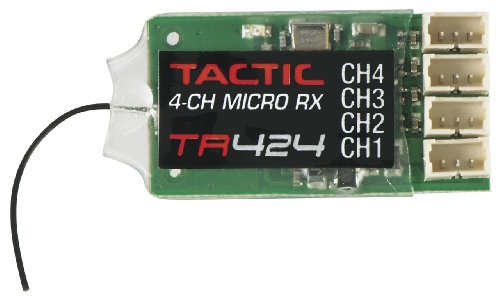 Tactic TR424 SLT 2.4GHz 4Ch Rx Receiver ()