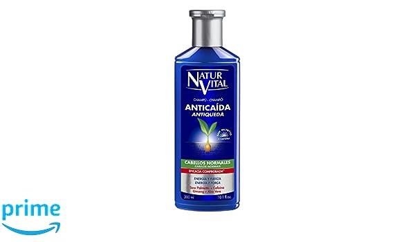 NaturVital Champú Anticaída Normales 300 ml