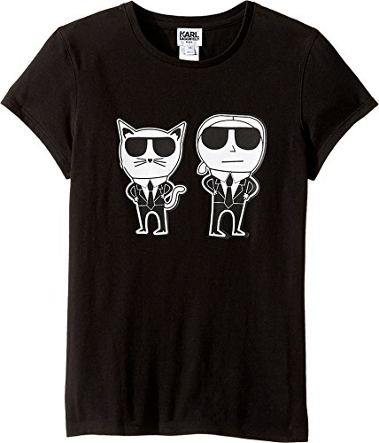 karl-lagerfeld-kids-girls-short-sleeve-mini-me-with-front-back-print-big-kids-black-shirt