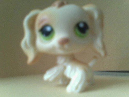Littlest Pet Shop Spaniel Dogs, Offer is for one of the Figures Shown as they are Available, Loose out of Package and Production Replacement Spaniel Dog Figures (Brittany Cocker Spaniel)
