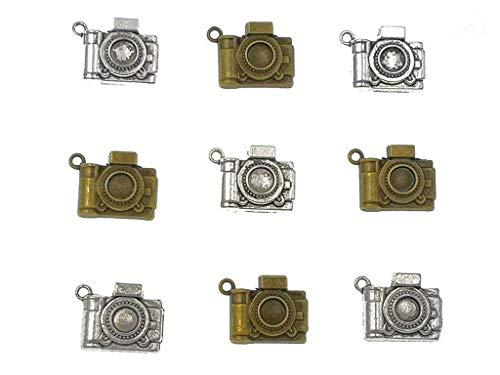 Alimitopia 30pcs Camera Charm Pendants Steampunk Charms DIY Bracelet Necklace Jewelry Making Findings(Antique - Camera Pendant Necklace