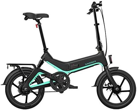 Brownrolly Bicicleta eléctrica Plegable de 16