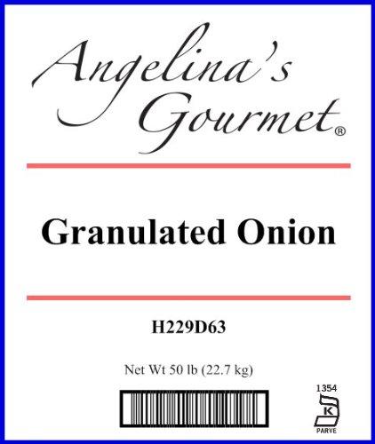 Onion, Granulated - 50 Lb Bag / Box Each