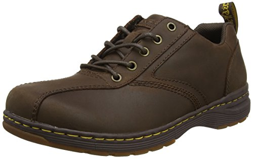 Dr. Dr. Martens Mænd Greig Oxford Boot Dark Brown Republic Martens Mænds Greig Oxford Støvle Mørkebrune Republik GPee52F