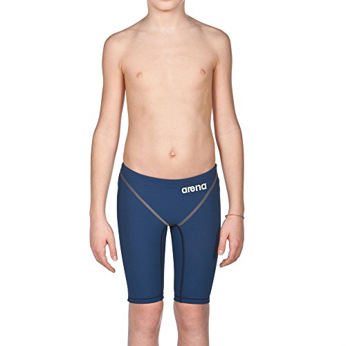b1c2c5434e005 arena Boy's Powerskin ST 2.0 Jammer Racing Suit, Navy, 28