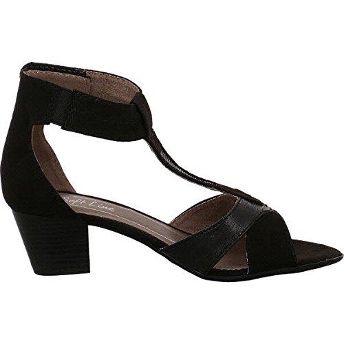 Softline 8-8-28360-28-001 - Sandalias de vestir para mujer 001black