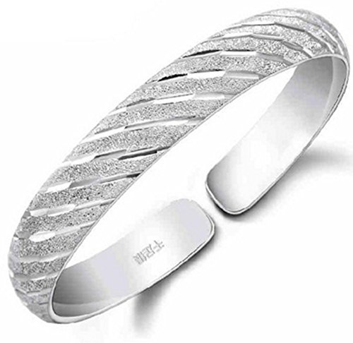Chariot Trading - 999 fine silver sterling silver bracelet opening meteor vintage Napier Twisted Bracelet