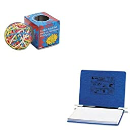 KITACC54133ACC72155 - Value Kit - Acco Pressboard Hanging Data Binder (ACC54133) and Acco Rubber Band Ball (ACC72155)