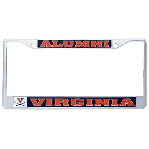Desert Cactus University of Virginia Cavaliers Metal License Plate Frame for Front Back of Car Officially Licensed (Alumni)