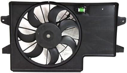 Make de auto partes fabricación – doble ventilador del radiador Asamblea – fo3115171: Amazon.es: Coche y moto