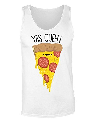 Yas Queen Adorable Slice Of Pizza T-shirt senza maniche per Donne Shirt