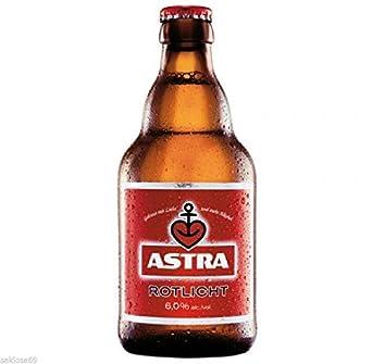 27 Flaschen Astra Rotlicht 60 A 033l Bier Hamburg