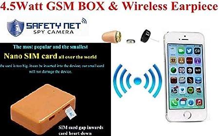 Buy CAM 360 Nano SIM Card GSM Box with Hidden in Ear